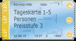 Tageskarte 1 - 5 Personen - Preisstufe 3